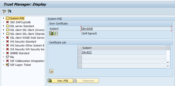 Install a server certificate in SAP NetWeaver ABAP – 3.1 Create a ...
