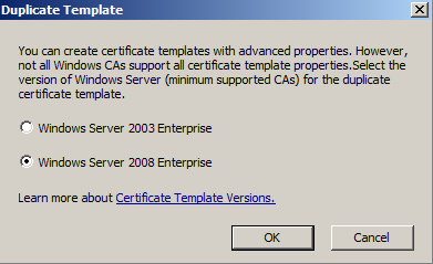 Microsoft ca create a new certificate template its full of stars now you can fill in the information of your certificate template this information will be used by the ca to create the final certificate requested by yelopaper Image collections