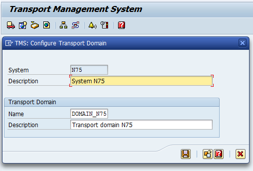 Initial configuration of TMS for a single system | It`s full