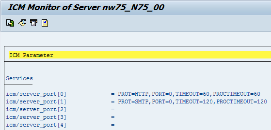 Initial setup of SAP NetWeaver ABAP ICM for HTTP | It`s full of stars!