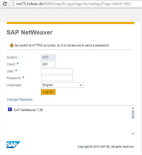 Activation of SAP WebGui | It`s full of stars!