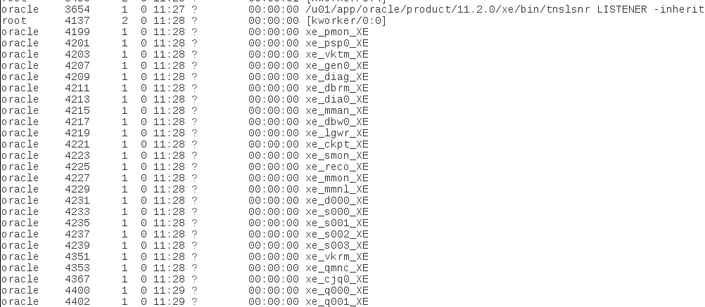 Install Oracle Express 11G R2 on CentOS 7 | It`s full of stars!