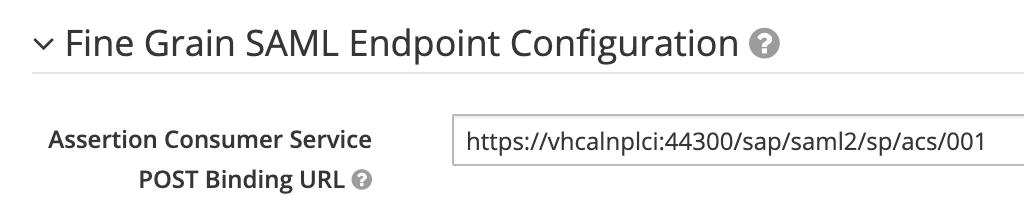 Keycloak Post binding url configuration