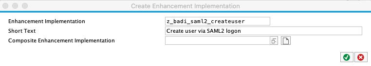 SE80 create enhancement implementation